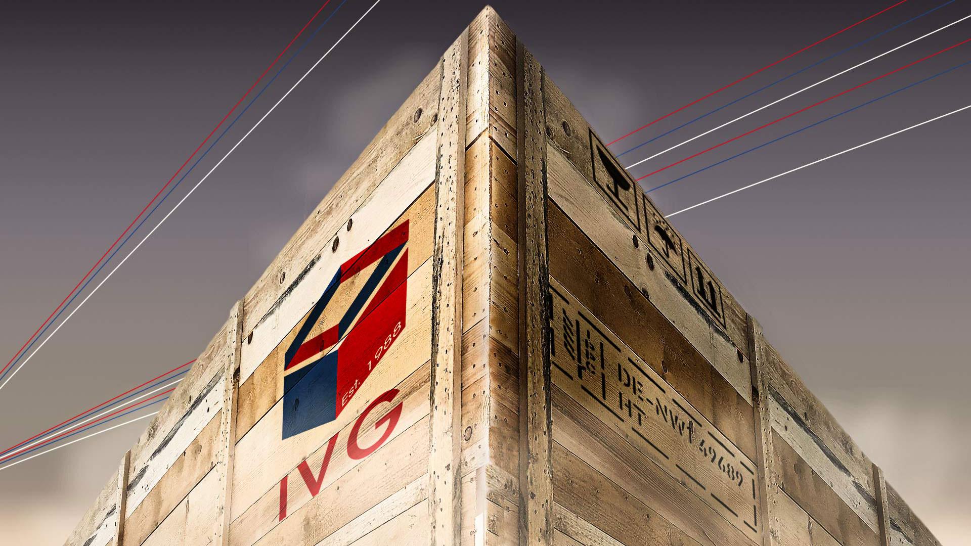Startbild der IVG-der Verpacker -Holz Verpackungskiste der Ivg